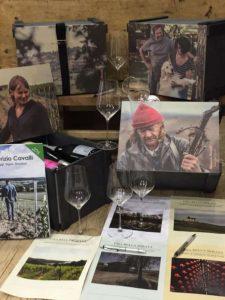 Casse in legno vini